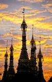 burma Myanmar pagody schwedagon Zdjęcia Royalty Free