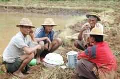 Burma - peasant farmers Royalty Free Stock Photos