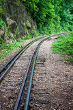 Burma railway Stock Photo