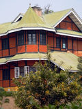 Burma. Restored Colonial House. In Pyin Oo Lyn. Used by Senior British Officers during the early 1900s stock photo