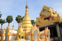 Burma Temple Royalty Free Stock Photography