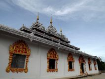 Burmese Architectural Style Royalty Free Stock Photos