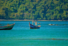 Burmese boat Royalty Free Stock Photo