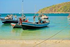 Burmese boat Royalty Free Stock Photography
