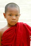 Burmese boy Monk Royalty Free Stock Image