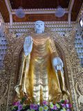 Burmese buddhist temple Stock Image