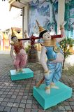 Burmese buddhist temple Royalty Free Stock Images
