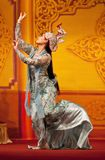 Burmese classical Dance Stock Image