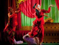 Burmese Dance Royalty Free Stock Images