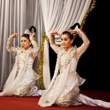 Burmese Dance, Myanmar Royalty Free Stock Photos