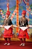 Burmese Folk Kachin Dance Royalty Free Stock Photos