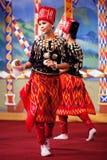 Burmese Folk Kachin Dance Stock Photos