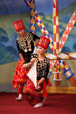 Burmese Folk Kachin Dance Royalty Free Stock Photography