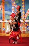 Burmese Folk Kachin Dance Royalty Free Stock Photo