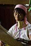 Burmese Giraffe Woman Stock Image