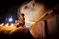 Burmese girl Stock Photos