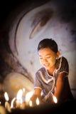 Burmese girl Stock Photo
