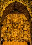Burmese Golden Buddha Stock Photos