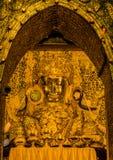Burmese Golden Buddha Stock Photos