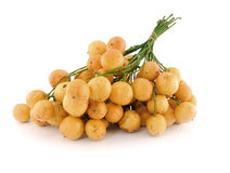 Burmese grape or Rambai ,Thai native fruit Royalty Free Stock Images