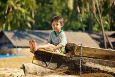 Burmese kid Royalty Free Stock Photos