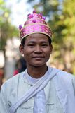 Burmese man Royalty Free Stock Images