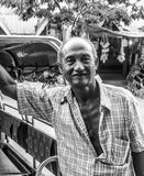 Burmese man portrait Royalty Free Stock Images