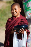 Burmese Monks Royalty Free Stock Photography