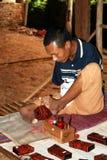 Burmese spirit Stock Photo