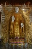 Burmese Standing Buddha Royalty Free Stock Photos