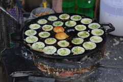 Burmese street food Stock Image