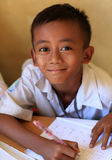 Burmese student at school Royalty Free Stock Images
