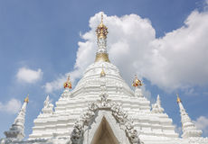 Burmese-style chedi of Buddhist temple Stock Photography