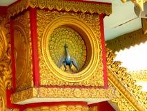 Burmese style design. Its photo of Burmese style design place - Global pagoda, Mumbai, India stock image