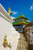 Burmese tempel Julian Bound Royaltyfri Fotografi