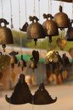 Burmese temple bell Stock Image