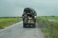 Burmese truck Royalty Free Stock Image