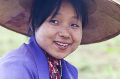 Burmese woman Stock Image