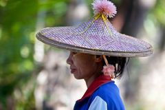 Burmese Woman Stock Photos