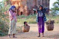 Burmese women Royalty Free Stock Photo