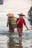 Fishing Village - Ngapali Beach - Myanmar (Burma) Stock Images