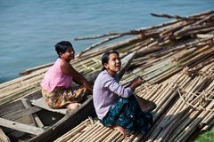 Burmese Women, Myanmar Stock Images