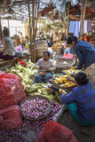 Bagan - Food Market - Myanmar (Burma) Royalty Free Stock Photography