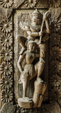 Burmese wood carving Stock Images