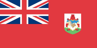 burmuda标志 免版税库存图片