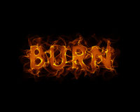 Burn Royalty Free Stock Photography