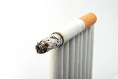 Burn Cigarette Royalty Free Stock Photography