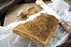 Burn crispy toasted Royalty Free Stock Image