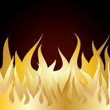 Burn flame fire Royalty Free Stock Images