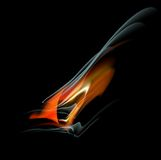 Burn flame fire  abstract background Royalty Free Stock Images